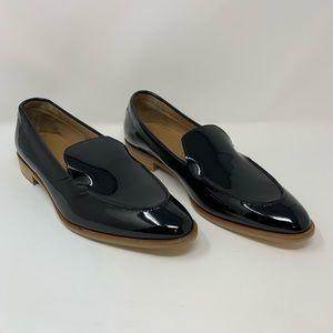 Everlane Black Patent Leather The Modern Loafer